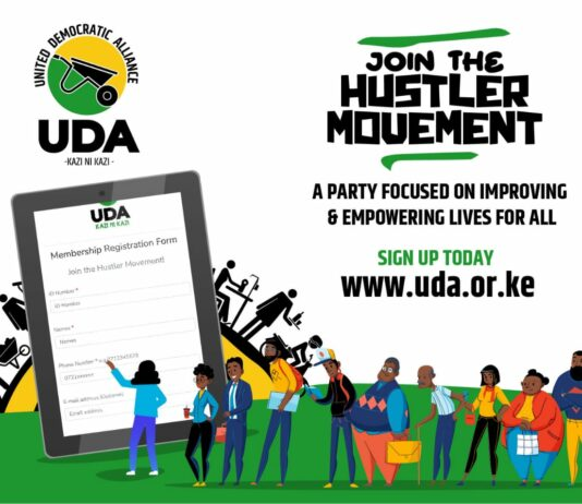 join uda party KENYA ONLINE